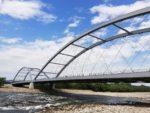 Most im. Józefa Piłsudskiego w Nowym Sączu, podwieszenie linowe