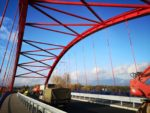 Most przez rzekę Wisłoka w ciągu DP1290R Dębica - Grabiny, podwieszenie prętowe
