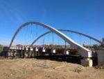 Most MD3 w ciągu obwodnicy Skawiny, podwieszenie prętowe