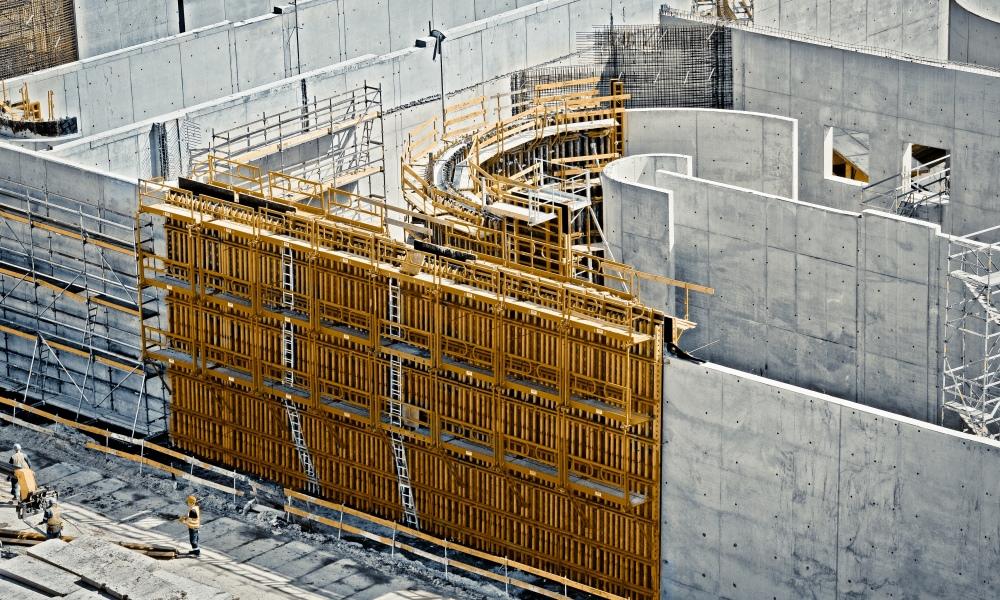 Deskowanie ściany